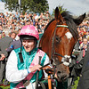 Rcing from York 22/8/12. Juddmonte International.<br /> Victorious Frankel and Tom Quealy<br /> Photo by Trevor Jones