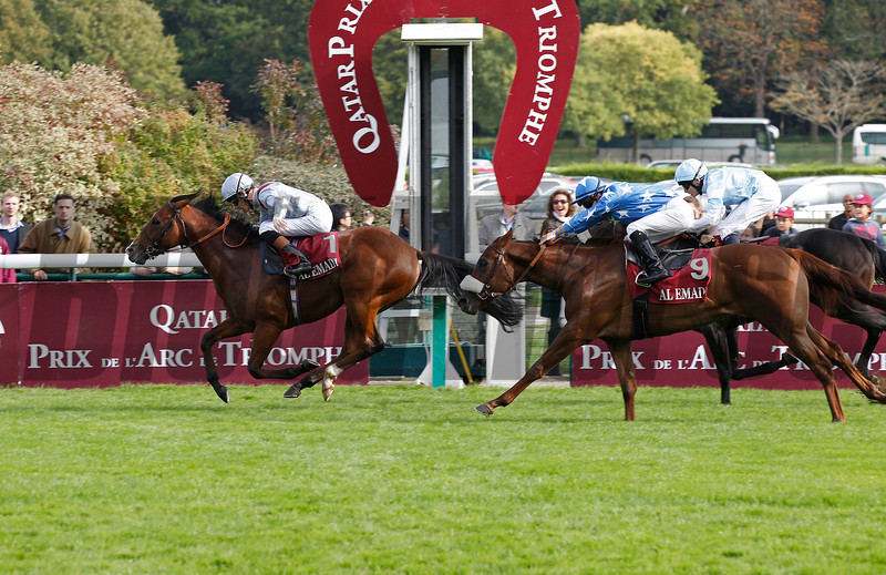 Olympic Glory wins the Grand Criterium from What a Name (9) and Indian Jade, Longchamp 07/10/12