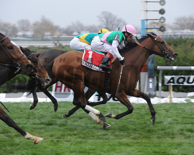 Starformer wins the 2012 Long Island Handicap.<br /> Coglianese Photos