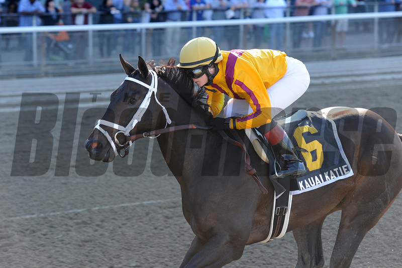 Kauai Katie wins The Matron Stakes.<br /> Photo by Coglianese Photos.