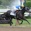 Shanghai Bobby wins the Hopeful Stakes at Saratoga.<br /> Photo by Coglianese Photos/Courtney Stafford