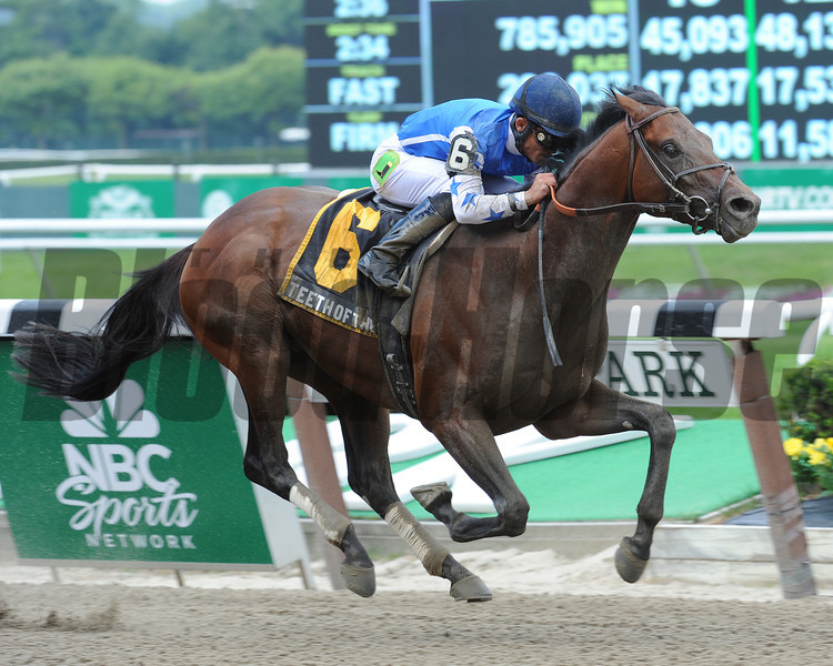 Teeth of the Dog wins the 2012 Easy Goer.<br /> Coglianese Photos