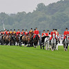 Queen Elizabeth II and her entourage arrive for the races at Royal Ascot on June 18, 2013<br /> Photo by Mathea Kelley