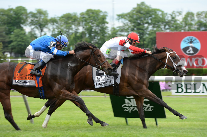 Stephanie's Kitten wins the 2013 Just a Game.<br /> Coglianese Photos