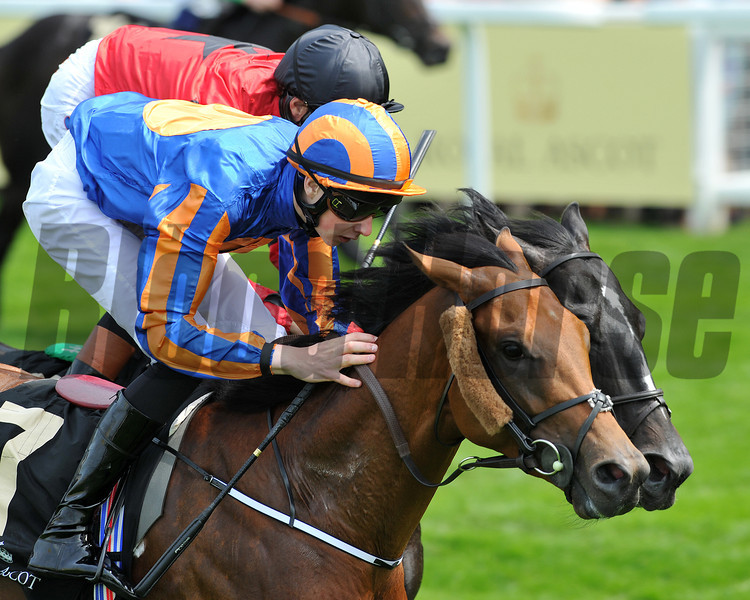Gale Force Ten, Jospeh Obrien up, wins the Jersey Stakes, Royal Ascot; UK, photo by Mathea Kelley 6/19/13;