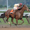 Go Unbridled wins the 2013 Saratoga Dew.<br /> Coglianese Photos