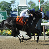 Sahara Sky wins the Metropolitan Mile.<br /> Coglianese Photo