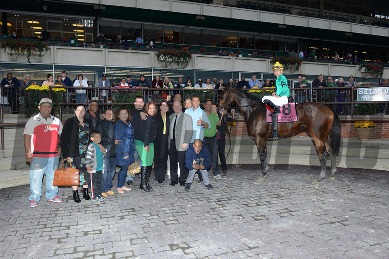 King Kreesa wins the 2013 Mohawk Stakes.<br /> Coglianese Photos