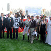 Al Manun Monlau in the winner's circle after winning the Dubai Kahaya Classic.<br /> Photo by Dave Harmon