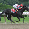 Bond Vigilante wins the 2013 Claramount Stakes.<br /> Coglianese Photos