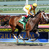 Dreaming of Julia wins the 2013 Gulfstream Oaks.<br /> Coglianese Photos/Courtney Heeney