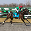 Crop Report wins the 2013 Team Valor Rushaway at Turfway Park<br /> Kevin Thompson Photo