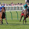 Vorda wins the 2013 Cheveley Park Stakes.<br /> Trevor Jones Photo