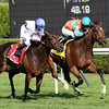 Laughing wins the 2013 Diana Stakes.<br /> Coglianese Photos