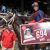 John Velazquez sets a record for wins at Saratoga with 694.<br /> Coglianese Photos