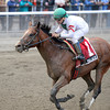 Palace wins the 2013 Hudson Stakes.<br /> Coglianese Photos