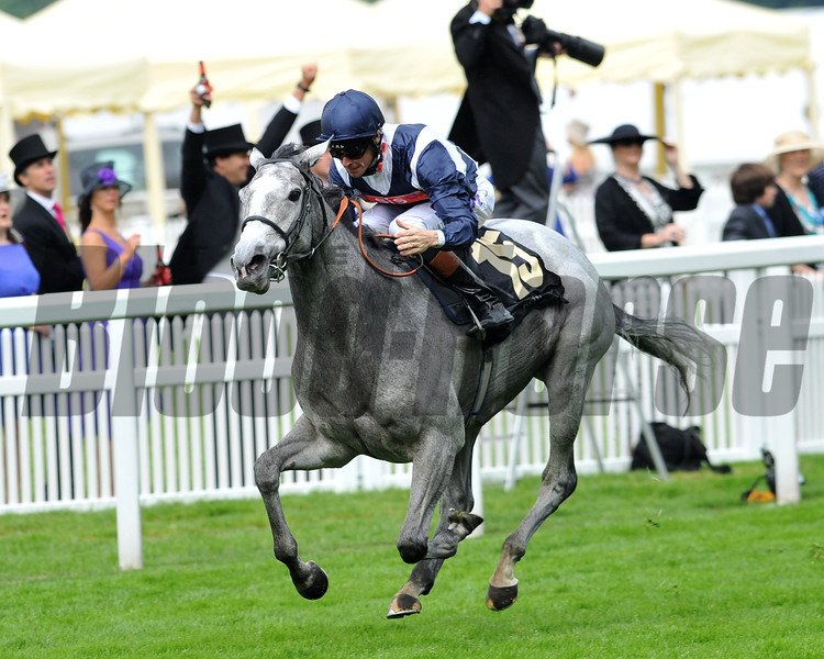 Sky Lantern, Richard Hughes up, wins the Coronation Stakes , Royal Ascot; UK, photo by Mathea Kelley; 6/21/13