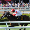 Kitten's Dumplings wins the 2013 Lake George.<br /> Coglianese Photos/Adam Mooshian