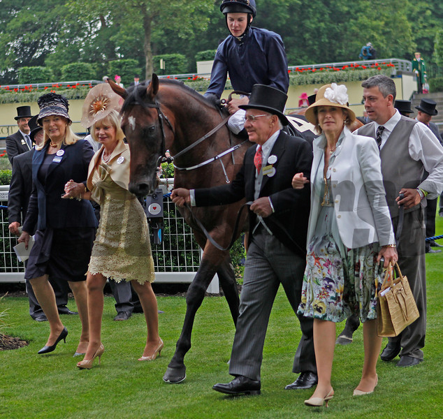 Racing from Royal Ascot !8/6/13. The Queen Anne Stakes.<br /> Declaration of War<br /> Trevor Jones Photos