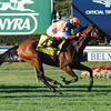 Alterite wins the 2013 Garden City Stakes.<br /> Coglianese Photos