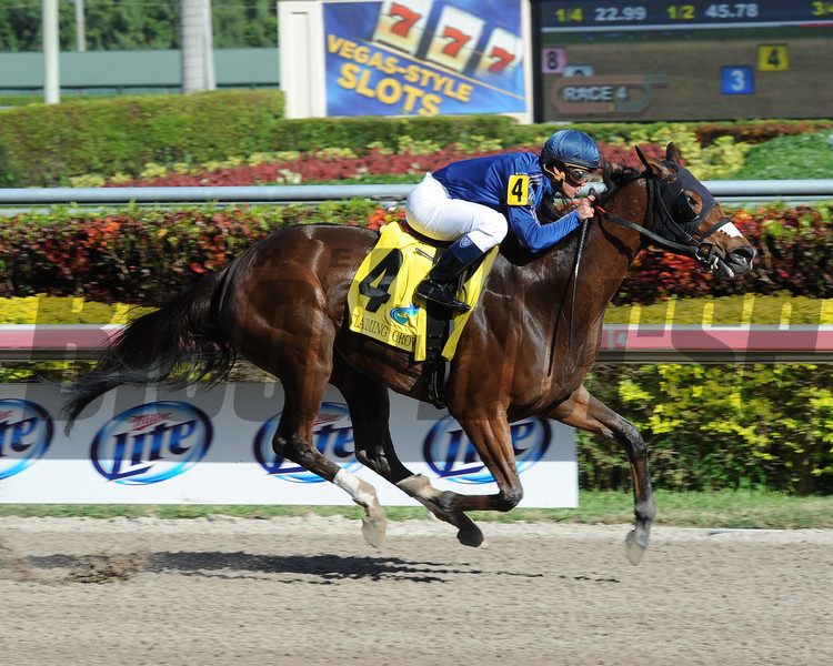 Centrique wins the 2013 Claiming Crown Glass Slipper.<br /> Coglianese Photos