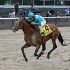 Calidoscopio wins the 2013 Brooklyn Handicap.<br /> Coglianese Photos/Chelsea Durand