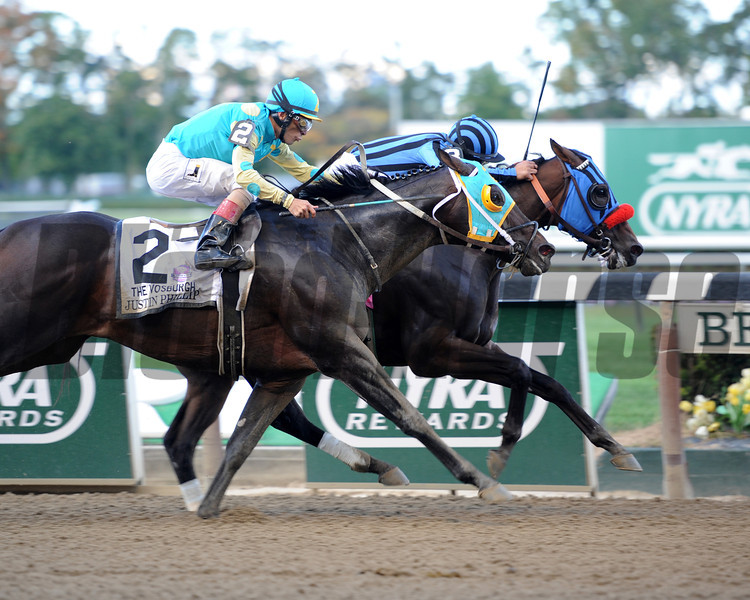 Private Zone wins the 2013 Vosburgh.<br /> Coglianese Photos
