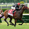 Point of Entry wins the 2013 Manhattan.<br /> Coglianese Photos