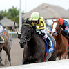 Aubby K wins the Inside Information.<br /> Coglianese Photos/Kenny Martin