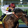 Royal Delta wins the Sabin Stakes.<br /> Photo by Coglianese Photos/Eleanor Gustafson