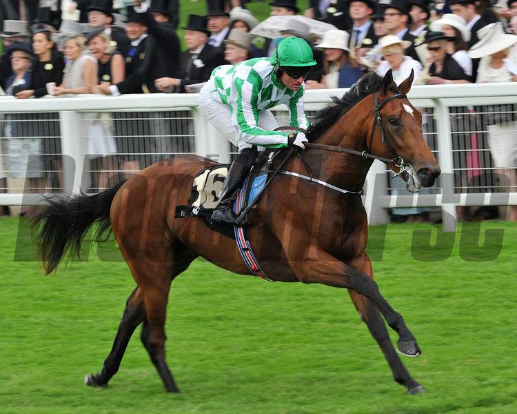War Command wins the Coventry Stakes at Royal Ascot 6/18/2013.<br /> Mathea Kelley Photo