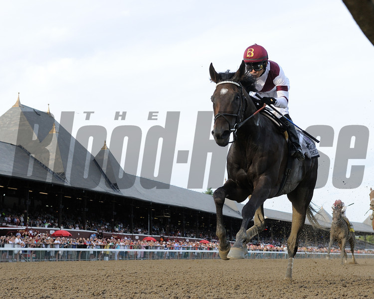 Royal Delta wins the 2013 Personal Ensign.<br /> Coglianese Photos