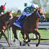 Winning Cause, Julien Leparoux up, wins the Coolmore Lexington, Keeneland Race Track, Lexington KY <br /> ©Photo by Mathea Kelley 4/20/13