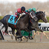 Honor Code wins the 2013 Remsen.<br /> Coglianese Photos