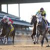 Graydar wins the Kelso Handicap at Belmont Park.<br /> Coglianese Photos