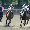 Moreno wins the 2013 Dwyer Stakes.<br /> Coglianese Photos/Joe Labozzetta