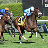 Assateague wins the 2013 De La Rose Stakes.<br /> Coglianese Photos/Courtney Heeney