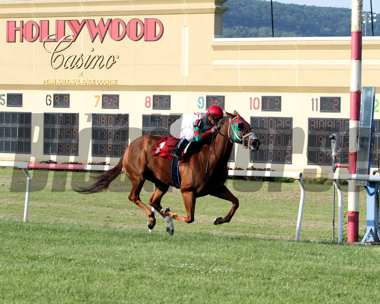 Tightend Touchdown Govenor's Cup Penn National