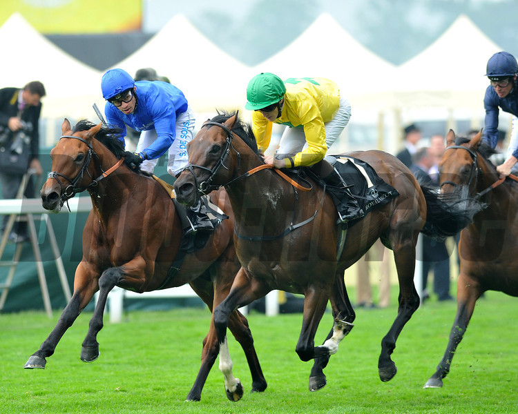 Rocu Tumu, William Lee up, wins the Britannia Stakes , Royal Ascot; UK, photo by Mathea Kelley; 6/20/13