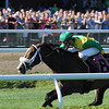 Summer of Fun wins the 2013 Auntie Mame Stakes.<br /> Coglianese Photos