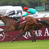 Longchamp 6/10/13 Prix Jean Luc Lagardere<br /> Karakontie wins from Noozhoh Canarias<br /> Trevor Jones Photo