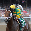 Palace Malice wins the 2013 Jim Dandy.<br /> Coglianese Photos/Adam Mooshian