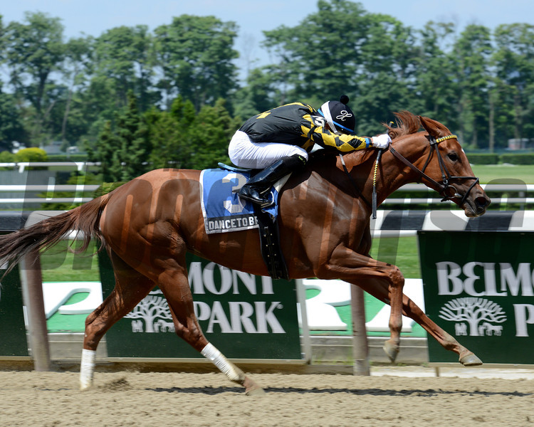 Dance to Bristol wins the 2013 Bed o' Roses.<br /> Coglianese Photos/Chelsea Durand