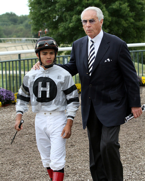 Luis Saez D. Wayne Lukas PA Derby Will Take Charge