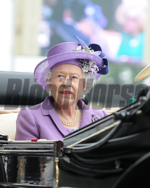 The Queen arriving at Royal Ascot; UK, photo by Mathea Kelley 9/20/13