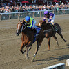 Escapefromreality wins the 2013 Albany Stakes.<br /> Coglianese Photos