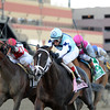 Verrazano wins the 2013 Wood Memorial (Normandy Invasion 2nd).<br /> Coglianese Photos/Adam Mooshian
