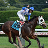 Robert Baker and William Mack's Strong Mandate turned in a dominant performance in the $300,000 Hopeful Stakes (gr. I) at Saratoga Race Course, winning by 9 3/4 lengths for Hall of Fame trainer D. Wayne Lukas on the renowned horseman's 78th birthday Sept. 2 at the Spa.<br /> Coglianese Photos