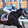 Verrazano wins the 2013 Wood Memorial (Normandy Invasion 2nd).<br /> Coglianese Photo/David Alcosser