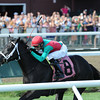 Hogy wins the 2013 Troy Stakes.<br /> Coglianese Photos